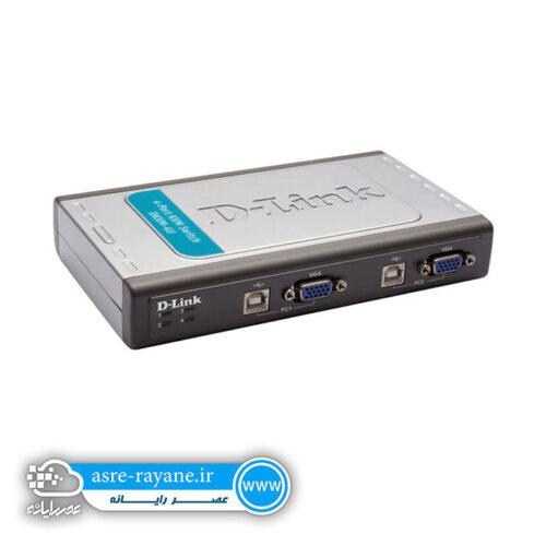 سوئیچ کی وی ام 4 پورت USB دی-لینک DKVM-4U
