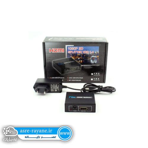 اچ دی ام ای اسپلیتر ۲ پورت HDMI SPLITTER 2 PORT
