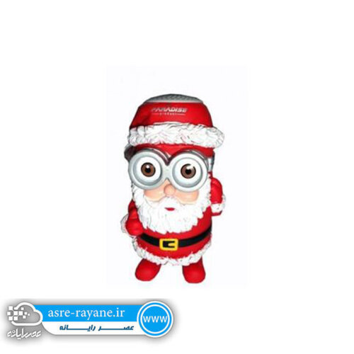اسپیکر بلوتوث طرح عروسکی فلش خور بابانوئلsp300
