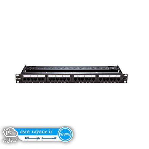 پچ پنل لود 24 پورت Cat6 UTP دی-لینکNPP-C61BLK241