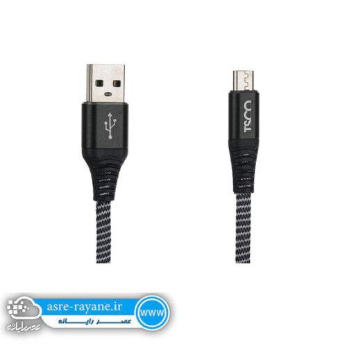 کابل تبدیل USB به microUSB تسکو مدل TC-A31