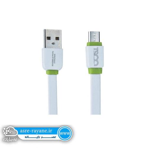 کابل تبدیل USB به microUSB تسکو مدل TC52