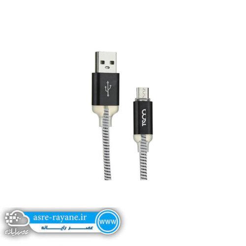کابل تبدیل USB به microUSB تسکو مدل TC 71