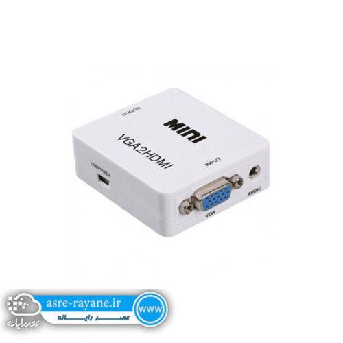 تبدیل VGA به HDMI با خروجی صدا
