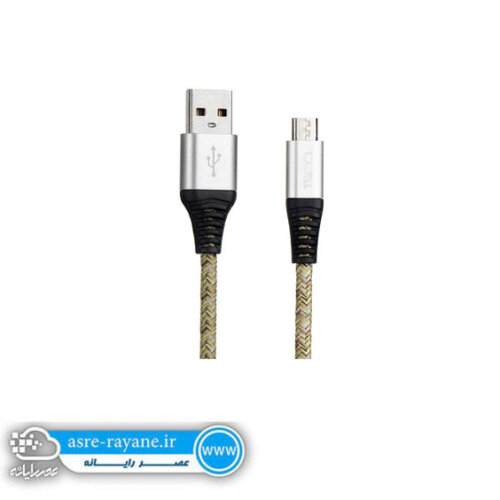 کابل تبدیل USB به microUSB تسکو مدل TC 98