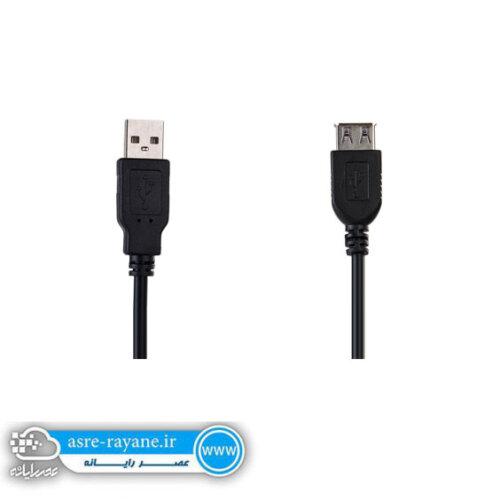 کابل USB 2.0 ای فور نت EXTTENSION طول 3 متر