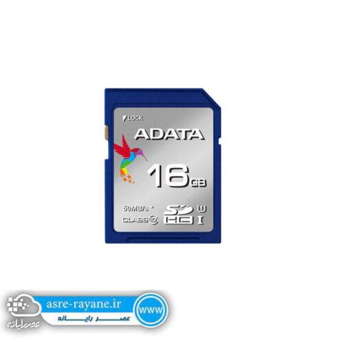 کارت حافظه microSDHC ای دیتا مدل Premier ظرفیت 16 گیگ