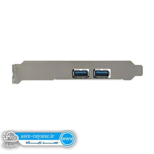 هاب USB3.0 دو پورت PCI CARD پی نت