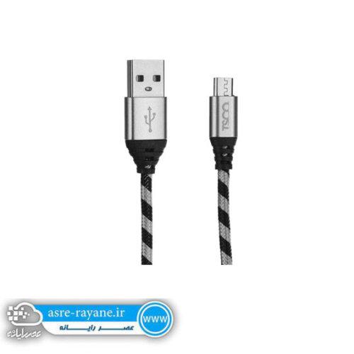 کابل تبدیل USB به microUSB تسکو مدل TC 99