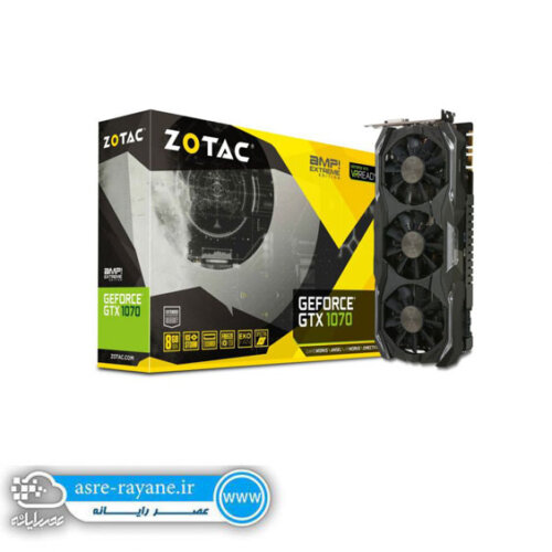 کارت گرافیک ZOTAC GTX 1070 AMP! Extreme