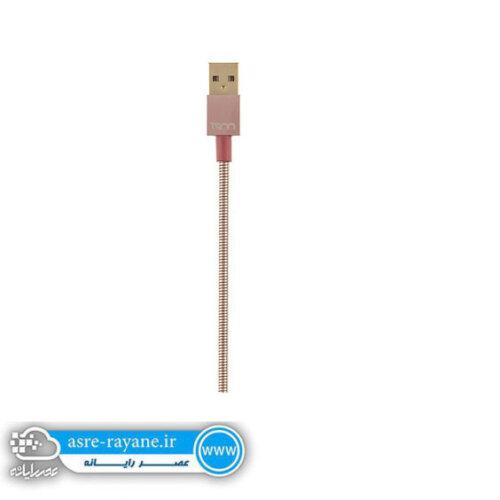 کابل تبدیل USB به microUSB تسکو مدل TC 62