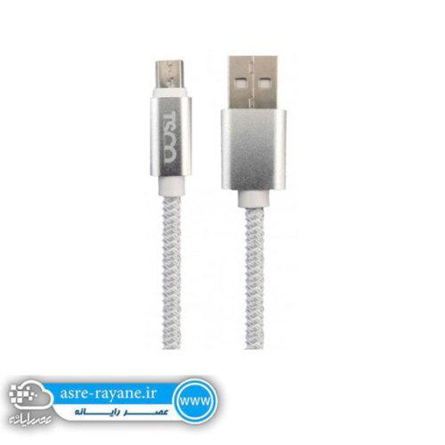 کابل تبدیل USB به microUSB تسکو مدل TC 53 N
