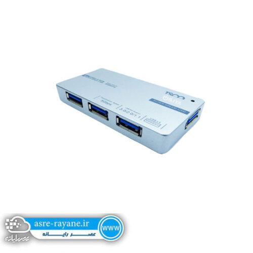 هاب USB 3.0 چهار پورت تسکو مدل tsco1110