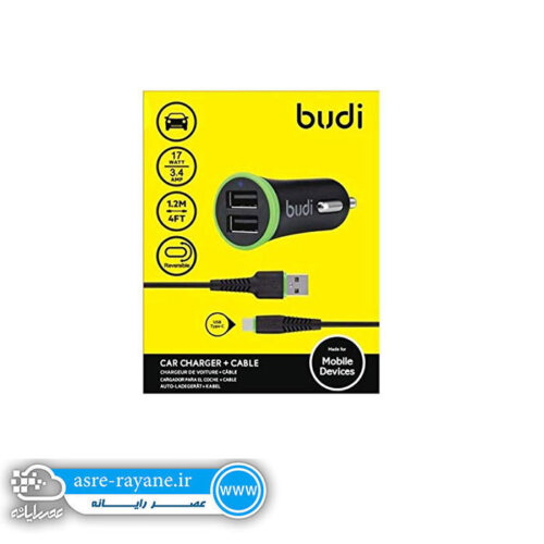 BUDI 061T Type C Car Charger