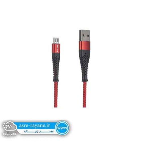 کابل تبدیل USB به microUSB تسکو مدل TC A66 طول 1 متر