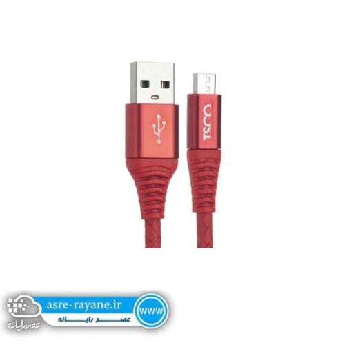 کابل تبدیل USB به microUSB تسکو TC 50 طول 0.9 متر