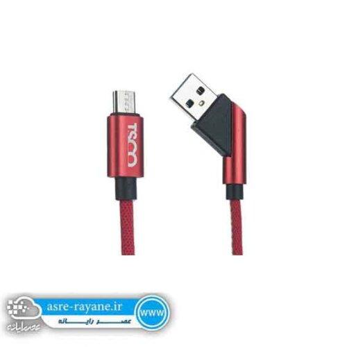 کابل تبدیل USB به microUSB تسکو TC A60