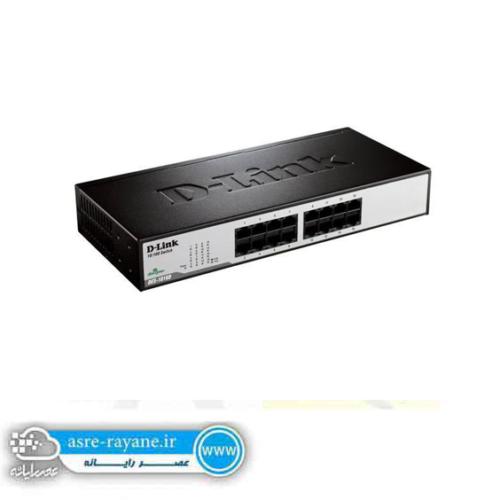 D-Link 16-Port 10/100 Switch DES-1016D